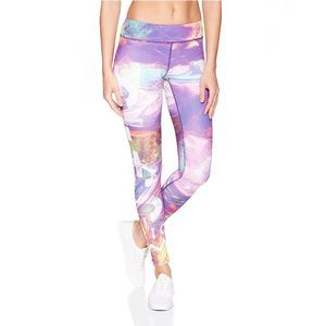 Reebok Lux Bold Workout Tights - Peppy Pink